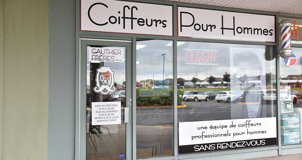 Salon De Coiffure Pour Hommes Gauthier Frères Brossard Rive Sud Montréal